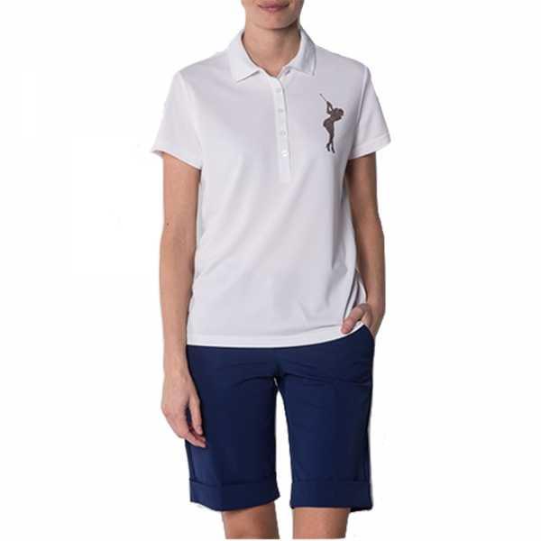Alberto RORY Cooler Poloshirt Damen weiß