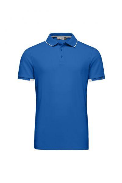 KJUS Stan S/S Polo Herren blau