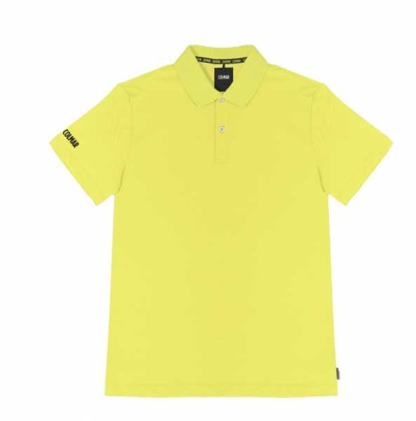 Colmar knitted Polo Herren lime
