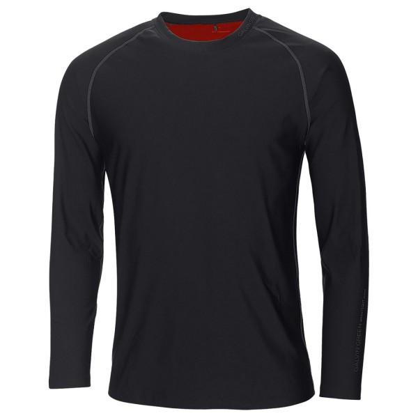 Galvin Green ELMO Skintight Long Sleeve Base Layer Herren schwarz/rot