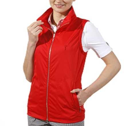Golfino Micro Waistcoat Damen rot