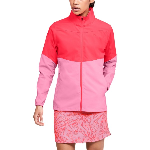 Under Armour Windstrike Jacke Damen rot/pink