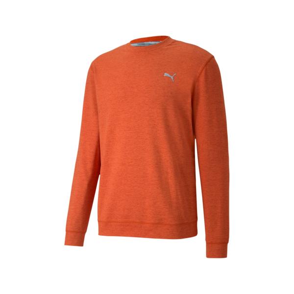Puma Cloudspun Crewneck Pullover Herren orange
