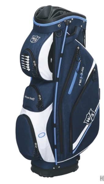 Wilson Staff NeXus II Cartbag blau/weiß