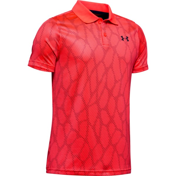 Under Armour Performance Polo 2.0 Novelty Jungen rot