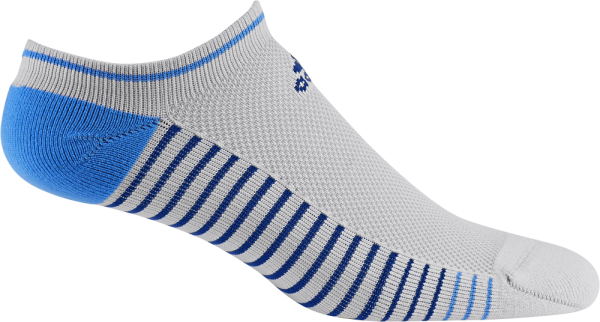 Adidas Single Performance noshow Socken Herren weiß/grau/blau
