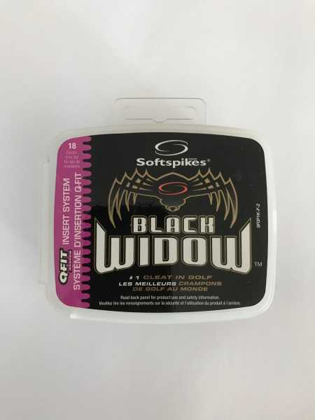 Softspikes Black Widow QFit-System