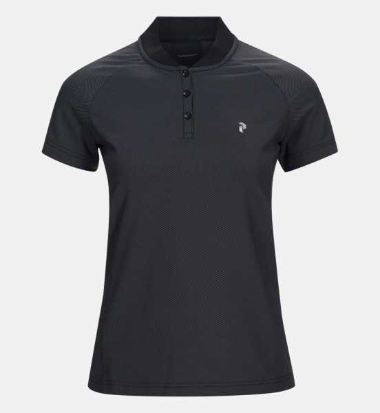Peak Performance CHRONIC Polo Damen schwarz