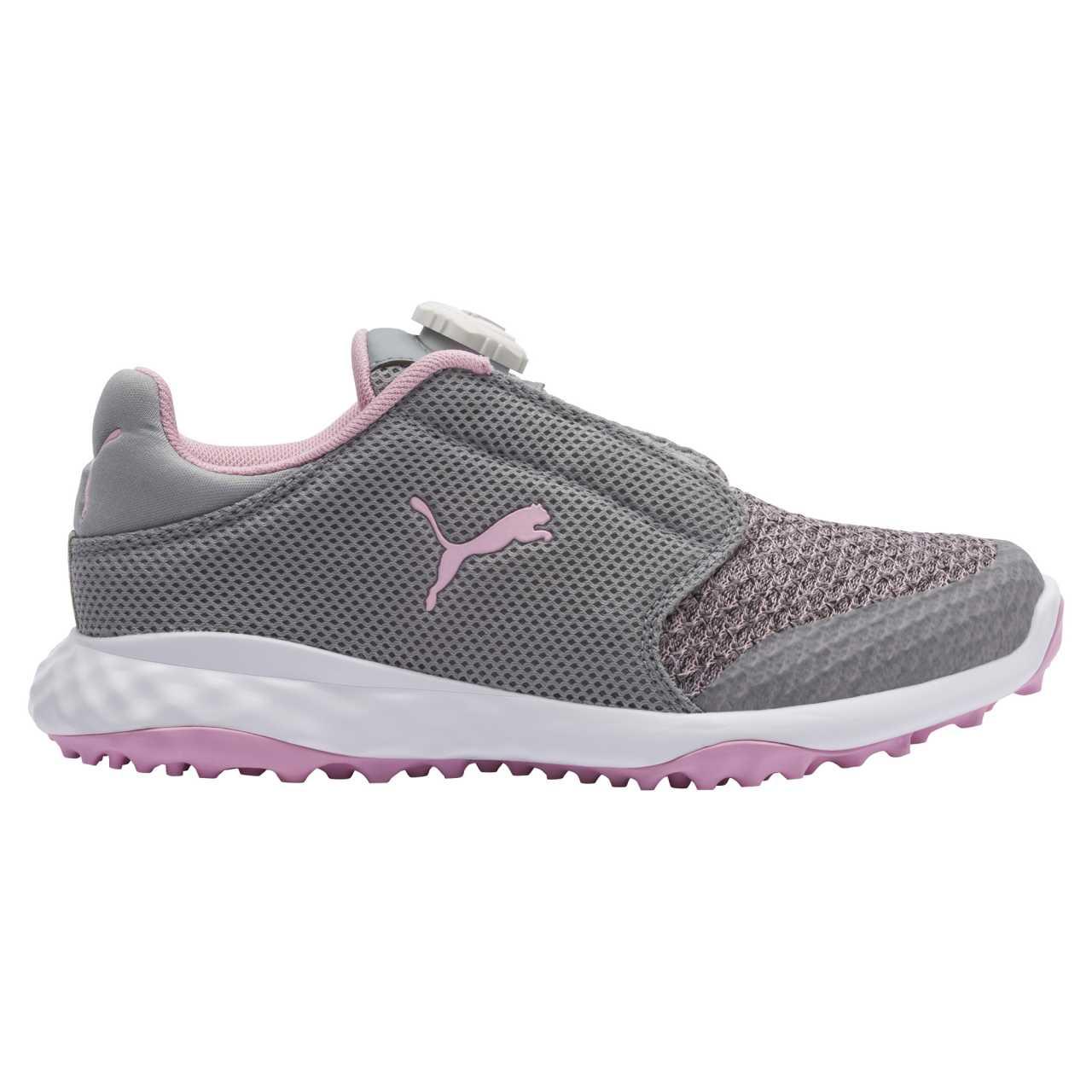 Puma Grip Fusion Sport BOA Junior grau/pink