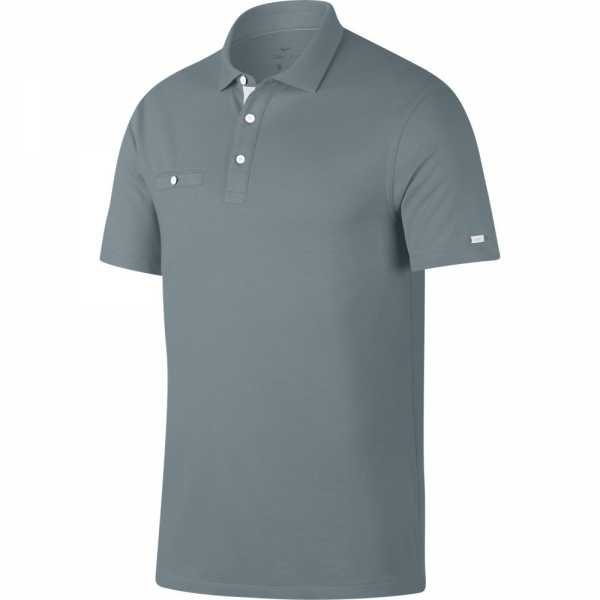 Nike Dry-Fit Polo Herren grau