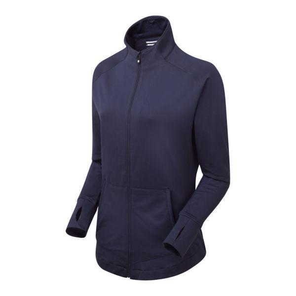 Footjoy Brushed Zip Pullover Damen navy
