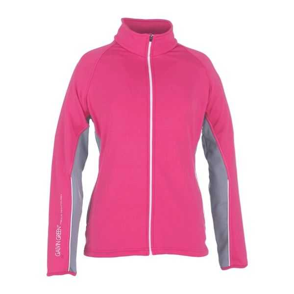Galvin Green Adele Jacket GTX Regenjacke Damen pink/weiß/silber