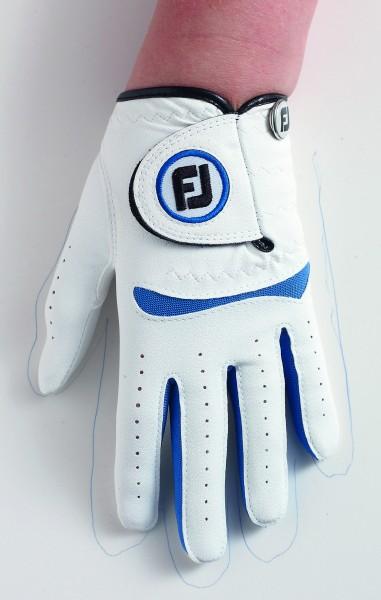 Footjoy Junior Handschuh  weiß/blau