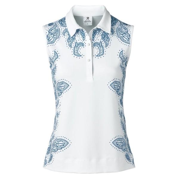 Dailysports Pammy sleeveless Polo Damen weiß