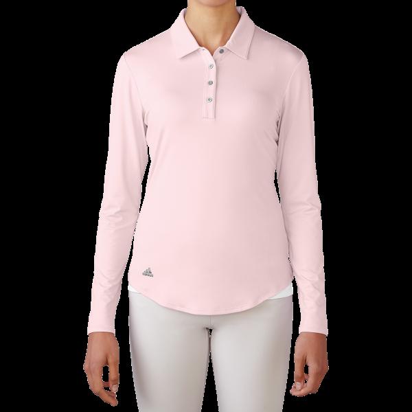 Adidas Essentials 3-Stripes Long Sleeve Damenpolo