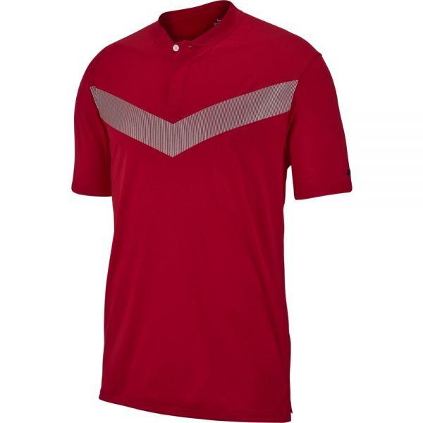 Nike TW Dry VAPOR Polo Reflect Herren rot