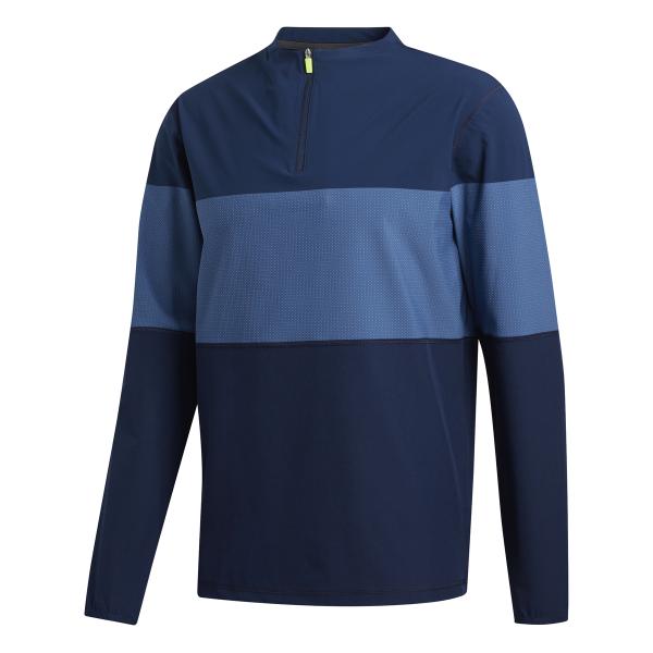 adidas Lightweight HI-Stretch Pullover Herren navy/blau