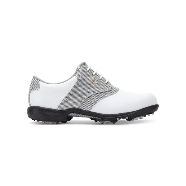 Footjoy DryJoys Schuh Damen weiß/grau