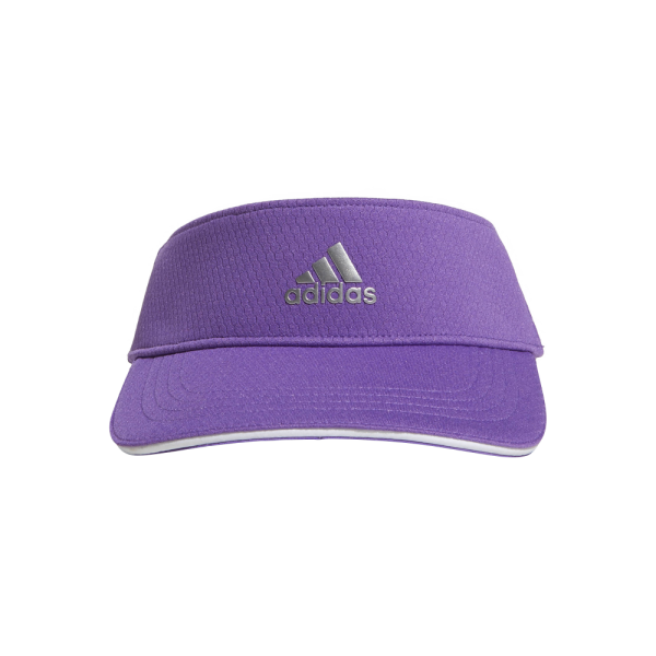Adidas 3-Striped Visor Damen lila weiß