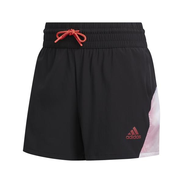 adidas Pull-On Color Block Shorts Damen schwarz