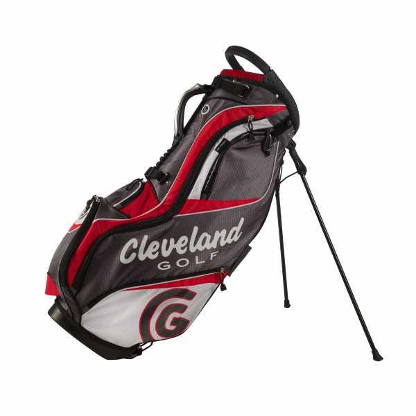 Cleveland Lite Standbag grau/rot/weiß