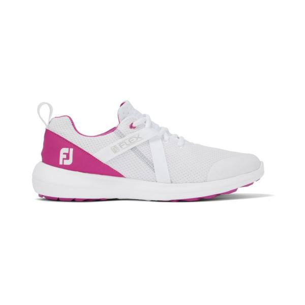Footjoy Flex Golfschuh Damen weiß/fuchsia