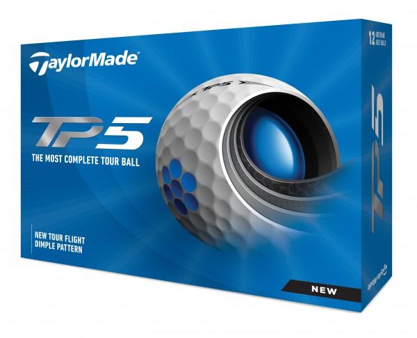 TaylorMade TP5 2021 Golfbälle 12Stk.