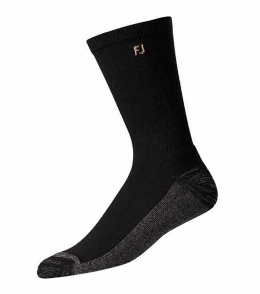 Footjoy ProDry Crew Socken lang Herren schwarz