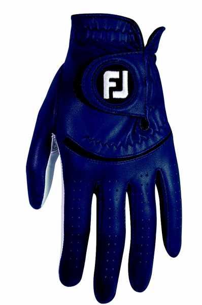 Footjoy Spectrum Damenhandschuh weiß/blau