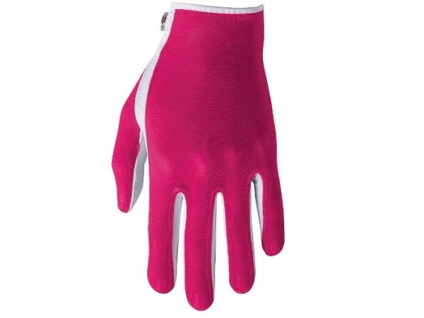 Footjoy StaCooler Damenhandschuh magenta/weiß
