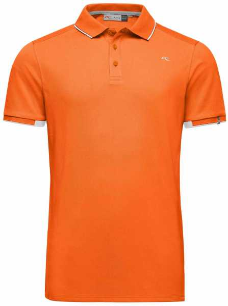 KJUS Stan Polo S/S Herren orange