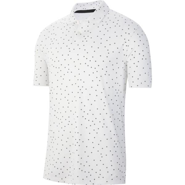 Nike Dri-FIT Vapor Polo Herren gestreift weiß