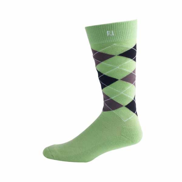 Footjoy ProDry Fashion Crew Argyle Socken Herren