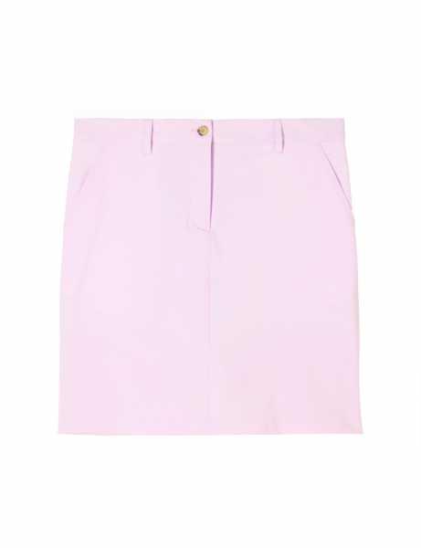 J. Lindeberg Allie Skirt Mirco Stretch Rock Damen pink