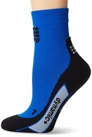 CEPsports dynamic+ Socken kurz Damen schwarz/blau