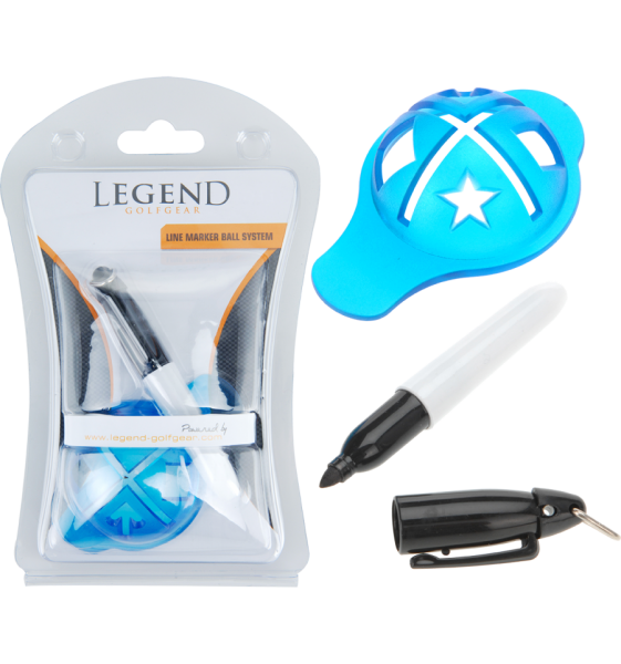 Legend Ball Schablone mit Stift