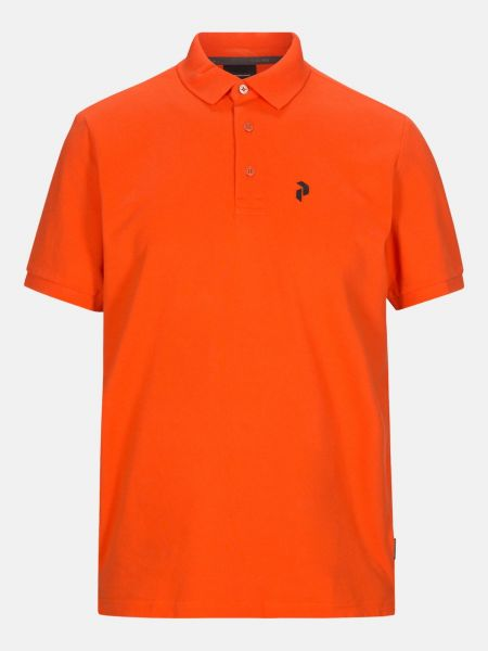 Peak Performance CLASSIC Pique Polo Herren orange