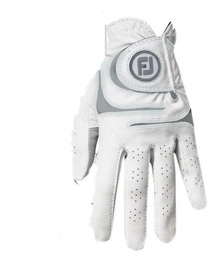 Footjoy Weathersof Handschuh Damen weiß/grau