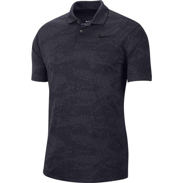 Nike Dri-FIT Vapor Camo Golf Polo Herren schwarz