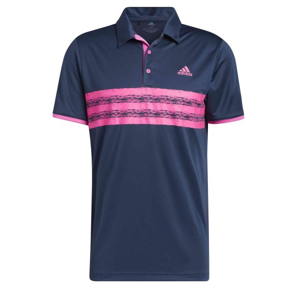 adidas Core Polo LC Herren navy/pink