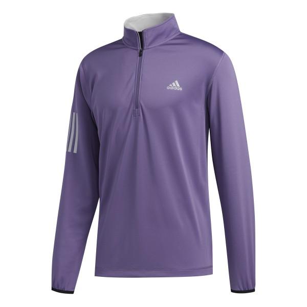 adidas 3-Stripe Midweight Pullover Herren lila