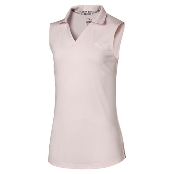 Puma Heather sleeveless Polo Mädchen rosa