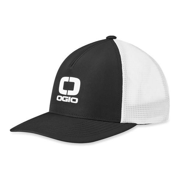 Ogio Shadow Core Badge Mesh Cap Herren schwarz