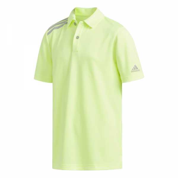 adidas Tournament Polo Jungen neon gelb