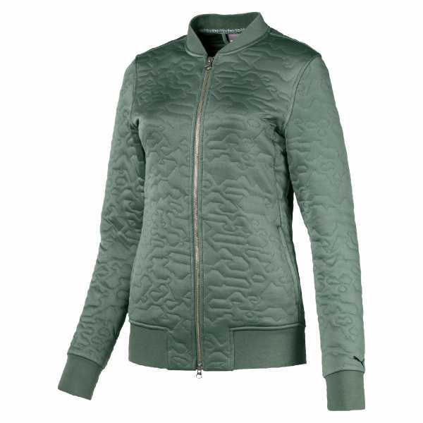 Puma Camo Lifestyle Bomber Jacket Damen grün/braun