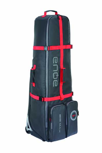 Big Max Aqua EZ Roller Travelcover schwarz/rot