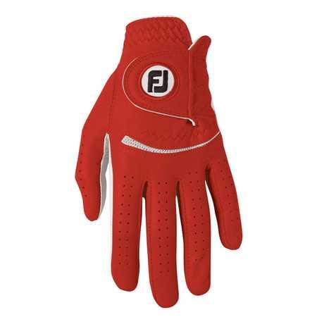 Footjoy Spectrum Damenhandschuh weiß/rot