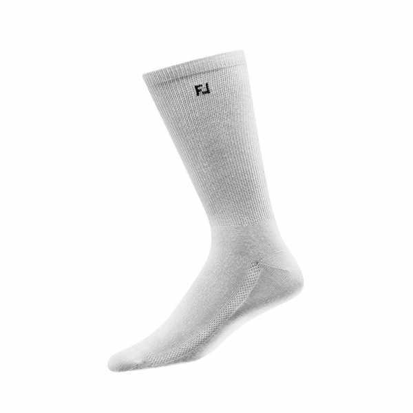 Footjoy ProDry Lightweight Socken lang Herren weiß