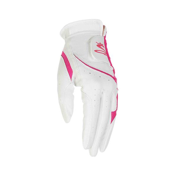 Cobra MicroGrip Flex Golfhandschuh Damen weiß/pink