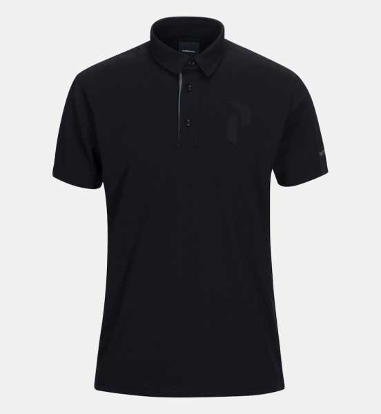 Peak Performance PANMORE Polo Herren schwarz